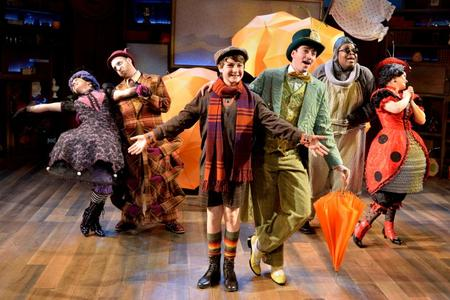 "LookSharp sponsors ""James and the Giant Peach,"" Adventure Theater"